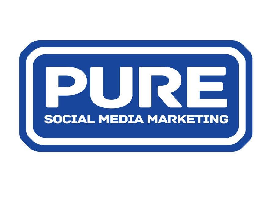 Конкурсная заявка №217 для Logo Design for PURE Social Media Marketing