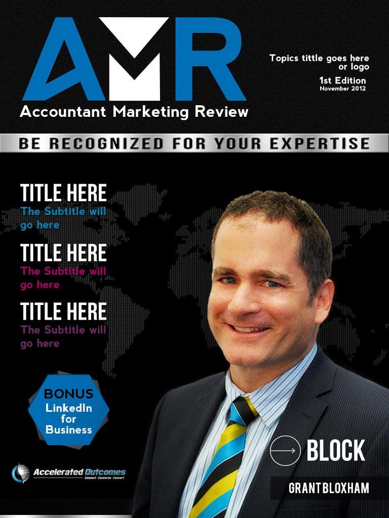 Penyertaan Peraduan #                                        35                                      untuk                                         Graphic Design for Accountant Marketing Review Magazine (Edit existing InDesign template)