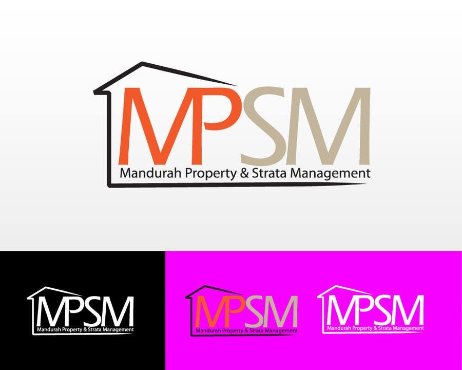 Kilpailutyö #99 kilpailussa Logo Design for Mandurah Property & Strata Management