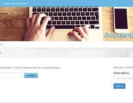 Nro 14 kilpailuun Design a Banner for a WebPage - Easy & Simple if You Read with Patience käyttäjältä mateodc
