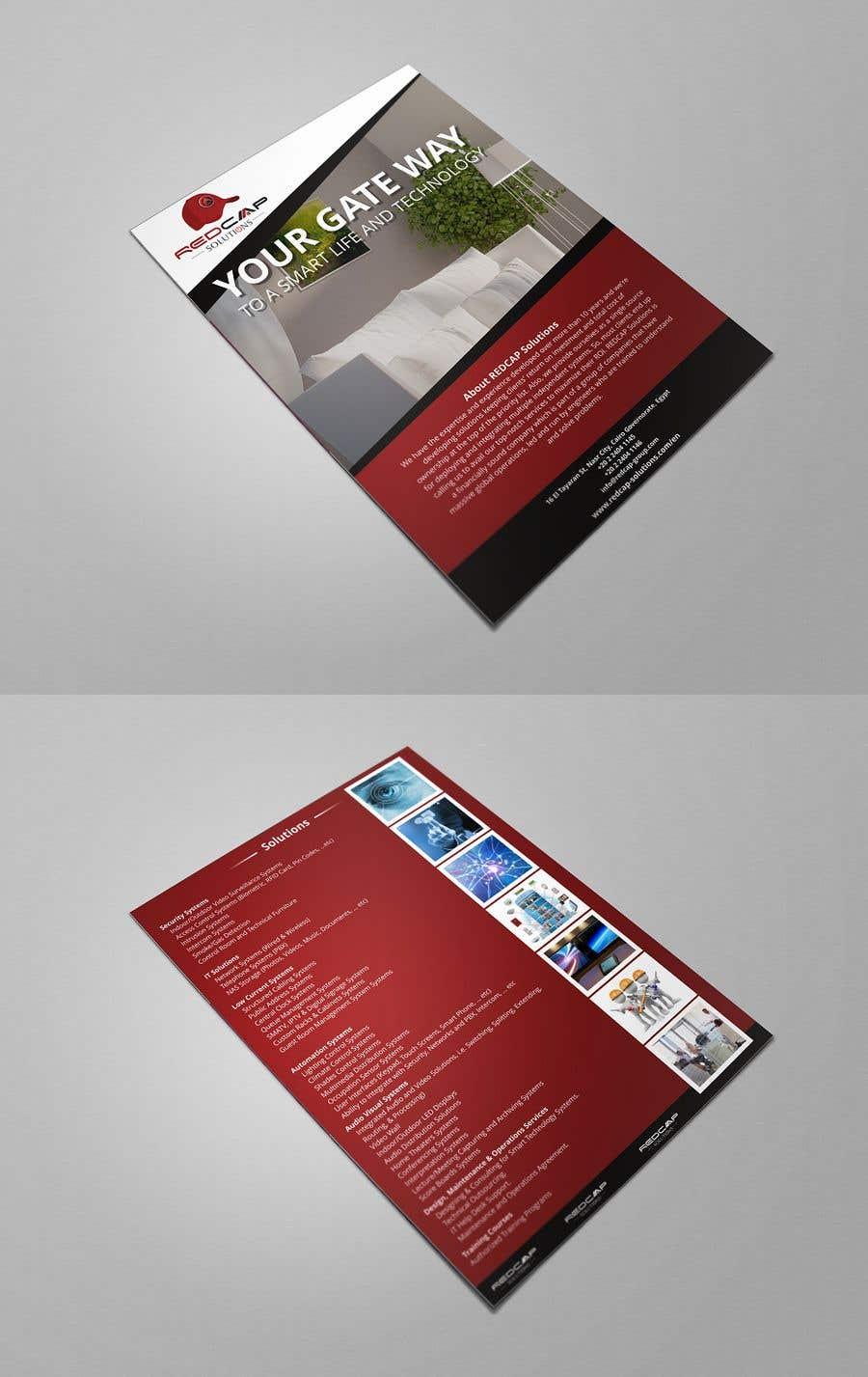 Entry #7 by yunitasarike1 for Design a Brochure | Freelancer on
