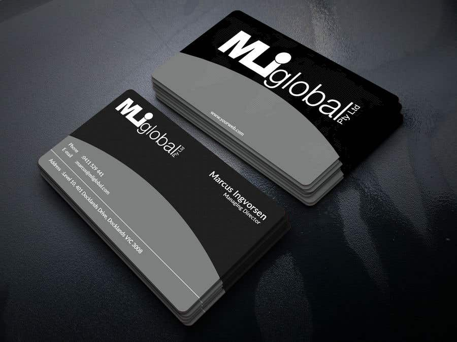Entry #157 by roman8964 for MLI Global Pty Ltd Business Cards