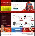 Graphic Design Contest Entry #43 for Website Design for Blam Daddy Inc.