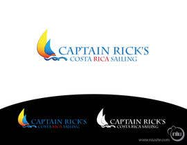 nº 37 pour Logo Design for Captain Rick's Costa Rica Sailing par tatianaplazas