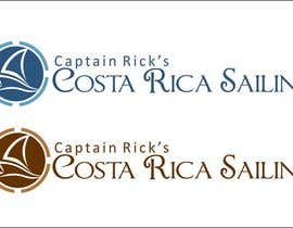 #98 para Logo Design for Captain Rick's Costa Rica Sailing por arteq04