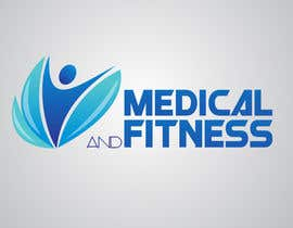 #86 para Logo Design for Medical and Fitness Centre por mcgraphics