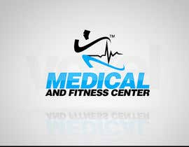 nº 7 pour Logo Design for Medical and Fitness Centre par VoxelDesign