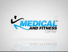 nº 6 pour Logo Design for Medical and Fitness Centre par VoxelDesign