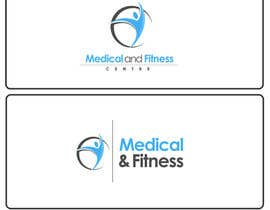 #1 para Logo Design for Medical and Fitness Centre por gfxbucket