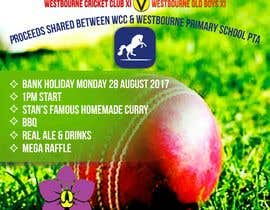 #16 pentru Fundraiser Poster Design for Print - Cricket! de către khblimon