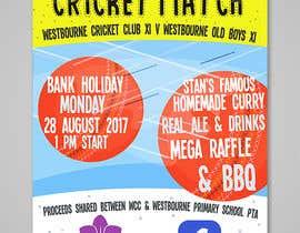 #29 pentru Fundraiser Poster Design for Print - Cricket! de către PaulaKenz