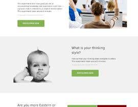 #26 for Redesign our website front page and give us insights about your workflow. by donigraphic