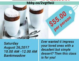 #25 cho Design a flyer for a Souffle Class bởi Nishat1418