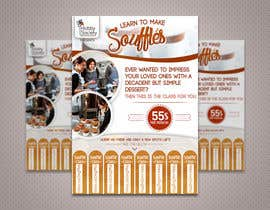 #22 cho Design a flyer for a Souffle Class bởi PaulaKenz