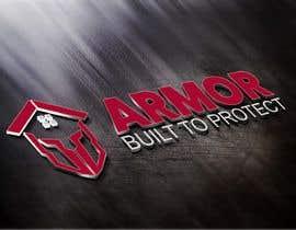 #384 per Logo Design for Armor Roofing & Exteriors da gunekoprasetyo34
