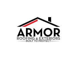 #389 per Logo Design for Armor Roofing & Exteriors da designerabubakar