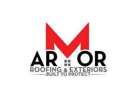 #391 per Logo Design for Armor Roofing & Exteriors da designerabubakar