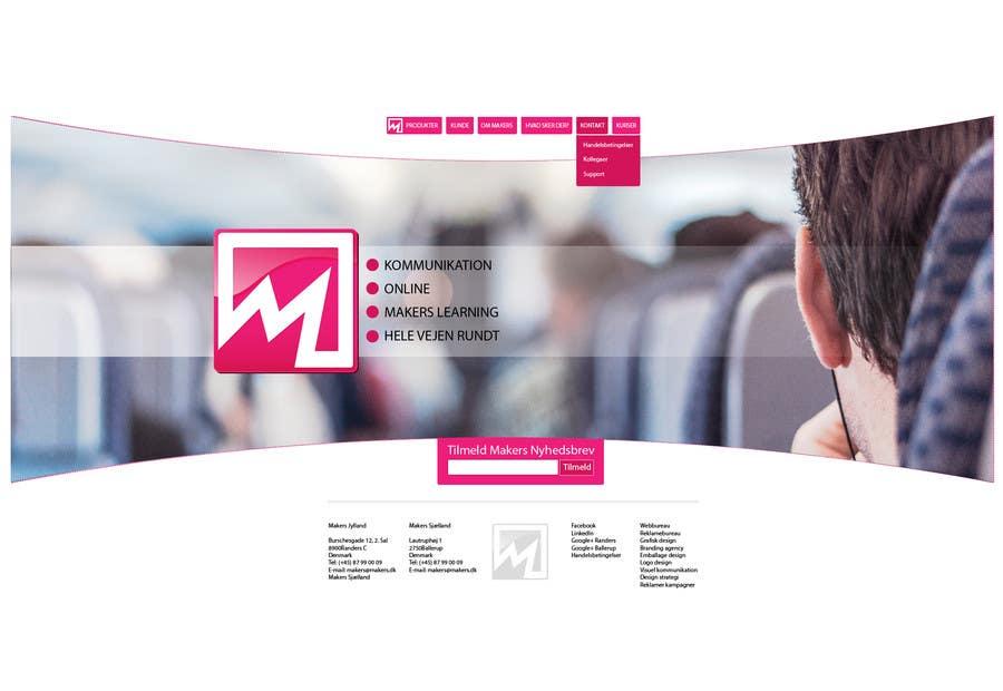 Konkurrenceindlæg #                                        28                                      for                                         Design a Website Mockup for http://makers.dk
