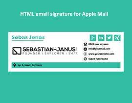#16 cho Develop a HTML signature bởi kowsur777