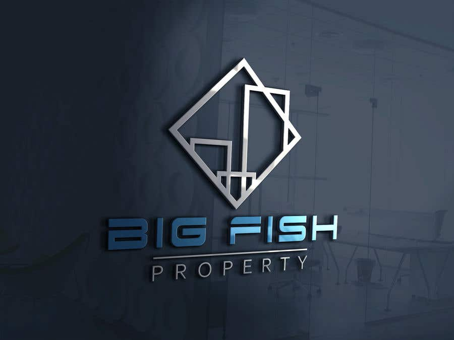 Entry 46 By Asik01711 For Design A Logo Big Fish Property