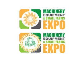 #59 untuk Design a Logo for Machinery, Equipment and Small Farms Expo oleh dianalakhina