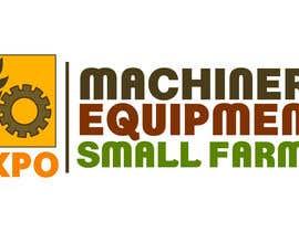 #48 untuk Design a Logo for Machinery, Equipment and Small Farms Expo oleh cbarberiu