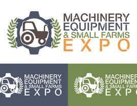 #56 untuk Design a Logo for Machinery, Equipment and Small Farms Expo oleh vladspataroiu