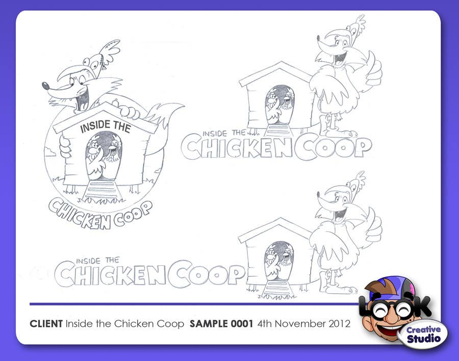 Contest Entry #                                        4                                      for                                         Logo Design for Inside The Chicken Coop