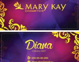 #18 cho Design some Business Cards for a new Mary Kay business bởi dianalakhina