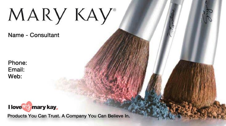 Contest Entry 6 For Design Some Business Cards A New Mary Kay