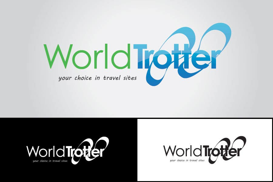Конкурсная заявка №177 для Logo Design for travel website Worldtrotter.com