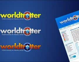 #66 pentru Logo Design for travel website Worldtrotter.com de către colourz
