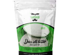 #8 untuk Dosa Idli batter packaging design ( Stand up pouch) oleh frontrrr