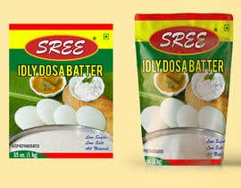 #9 for Dosa Idli batter packaging design ( Stand up pouch) by mvraju2017