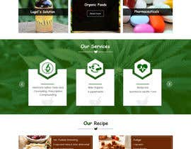 #36 for Design a Website Mockup for natural pharmacy af Webicules