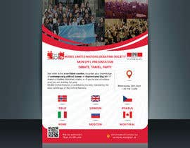#28 for Design a flyer + banner for a Model United Nations by bramuelmuleka