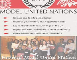 #20 for Design a flyer + banner for a Model United Nations by mdzafarikball