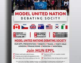 #45 for Design a flyer + banner for a Model United Nations by cfbutterfly