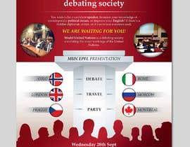 #24 for Design a flyer + banner for a Model United Nations by ferisusanty