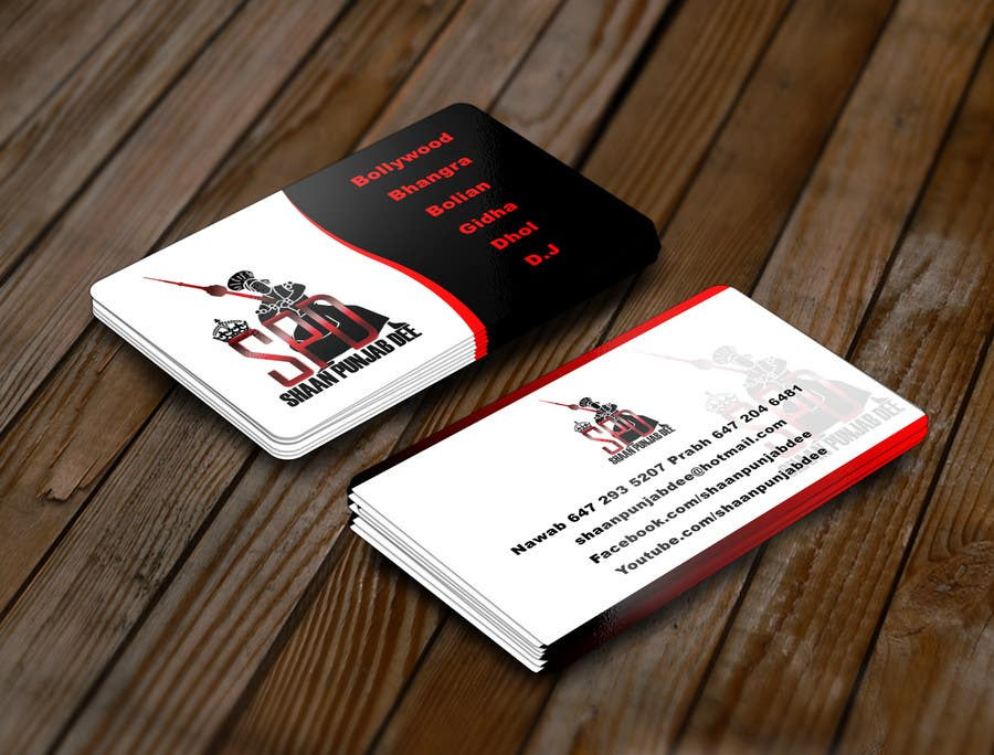 Entry #19 by chillipatchweb for Design some Business Cards for Dance ...