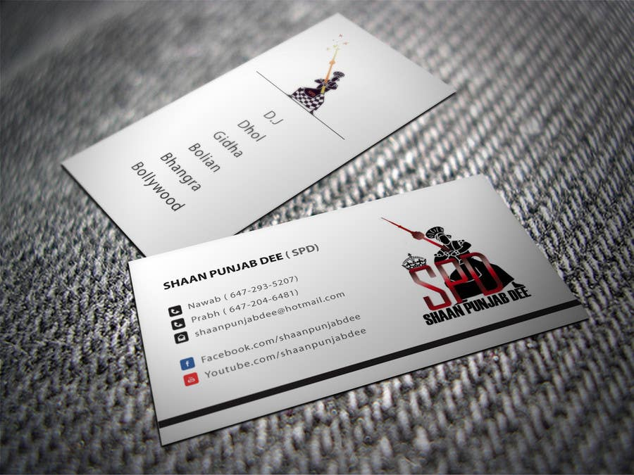 Entry #9 by shyRosely for Design some Business Cards for Dance ...
