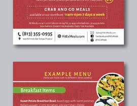 #27 for Design a Flyer for  a Meal Prep Company by terucha2005