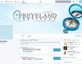 #22 untuk Design a Twitter background for us oleh Banj0