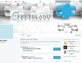 #23 untuk Design a Twitter background for us oleh Banj0