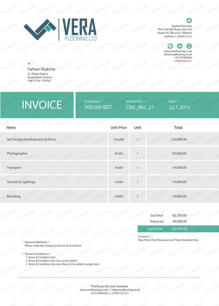 Entry By Mttcmrn For Editing Html Invoice Template Freelancer - Html invoice template