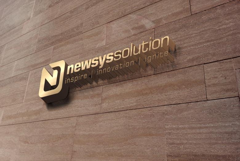 Penyertaan Peraduan #                                        18                                      untuk                                         Design a Logo for Newsys Solution