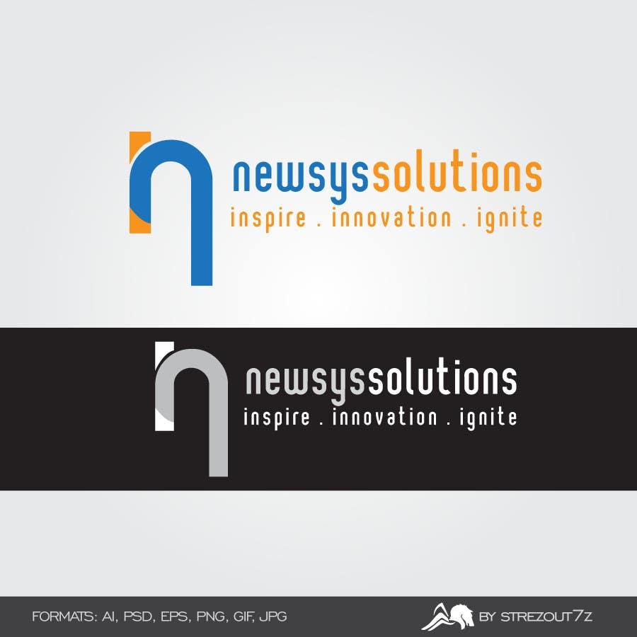 Penyertaan Peraduan #                                        26                                      untuk                                         Design a Logo for Newsys Solution