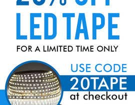 #37 for Design an LED Tape Banner for Email by maidang34