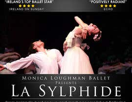 #16 para Graphic Design for Ballet company for a ballet called La Sylphide por qoaldjsk