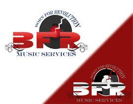 #234 para Logo Design:  BFR Music OR BFR Music Services por lorikeetp9